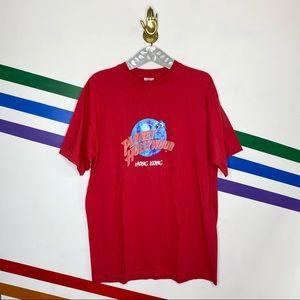 Planet Hollywood Hong Kong graphic T-shirt XXL 2XL